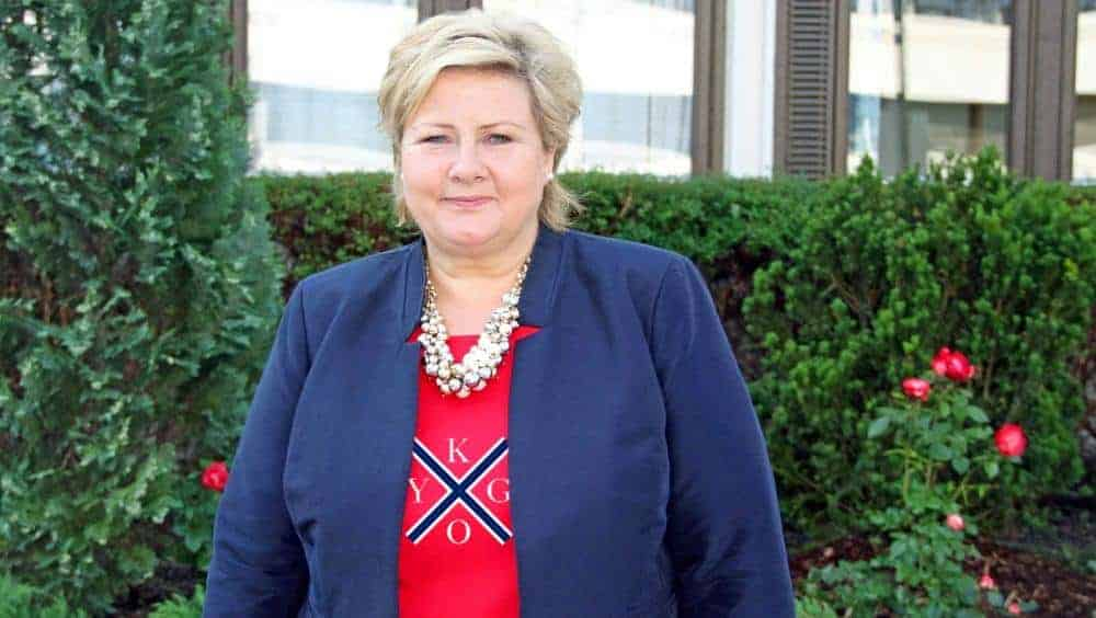 Erna Solberg kygo