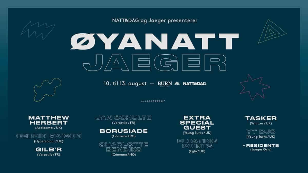 Øyanatt, Jaeger 2016
